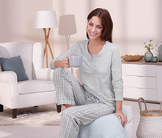 Piżama z bawełną ekologiczną
