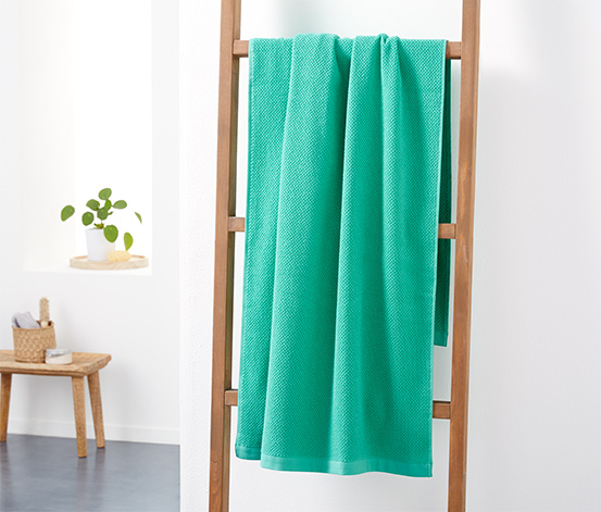 Ręcznik kąpielowy z tkaniny frotte