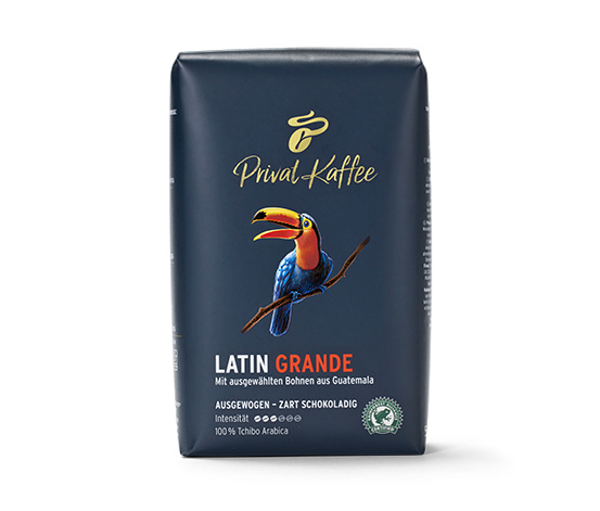Privat Kaffee Latin Grande – 500 g hela bönor