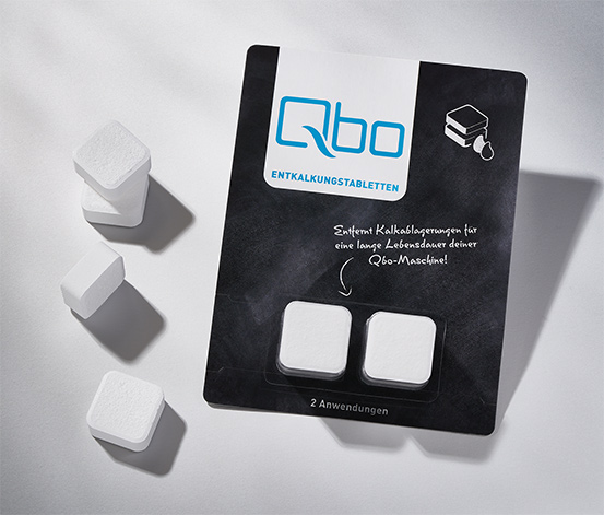 4 Qbo-Entkalkungstabletten