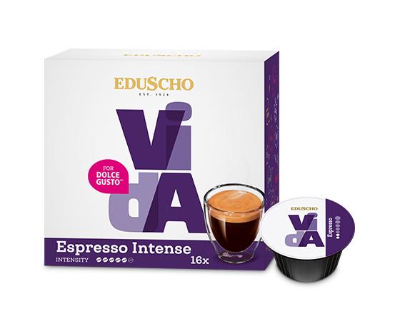EDUSCHO VidA Espresso Intense – 16 Kapseln
