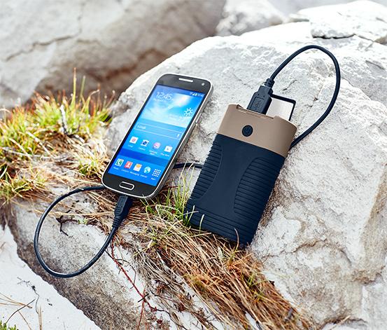 Zapasowy akumulator powerbank »Outdoor«