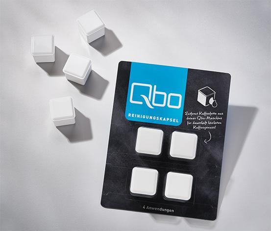 4 Qbo-Reinigungskapseln