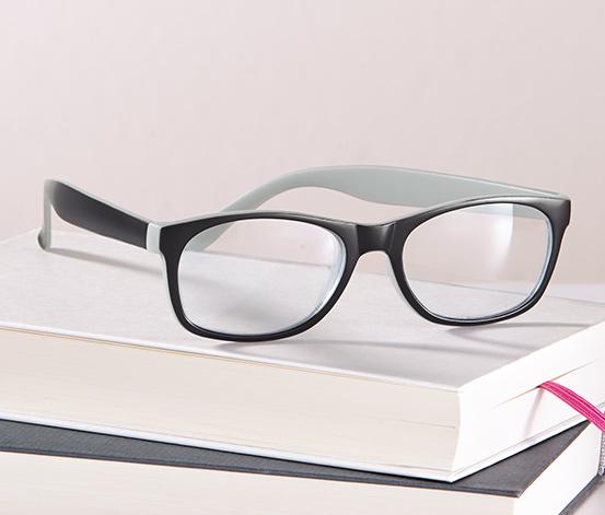 Tartalék olvasószemüveg, fekete