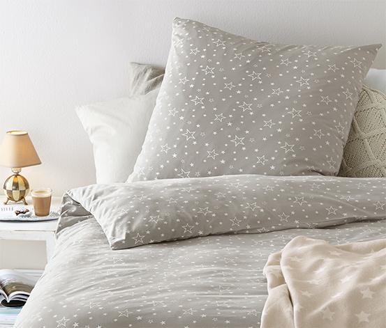 Jersey ágynemű, csillagok, 1 személyes