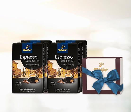 Espresso Sizilianer Art – 12 x 250g Gemahlen
