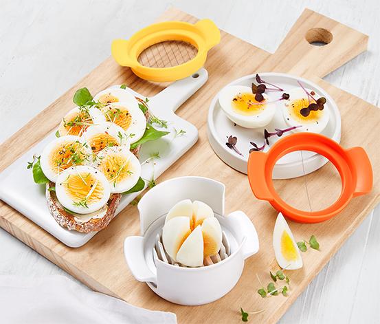 Krájač na vajíčka 3 v 1