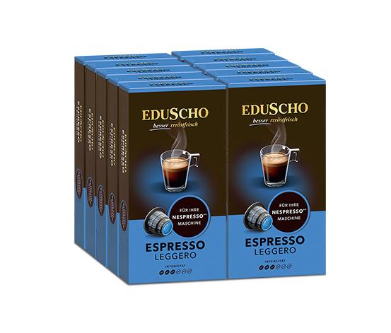 NEU: EDUSCHO Espresso Leggero - 100 Kapseln