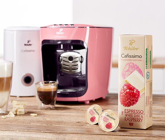 Aromalı Kahve: Espresso White Choc & Raspberry  – 10 Kapsül