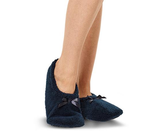 1 pár házicipő-zokni