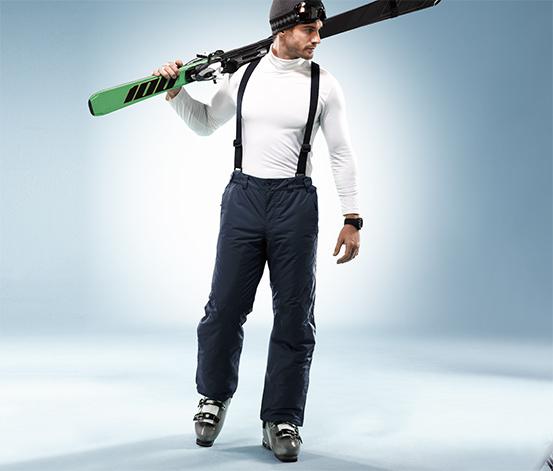 Férfi sínadrág, sportos, sötétkék