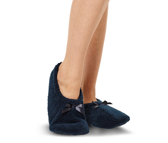 1 paire de chaussons-chaussettes