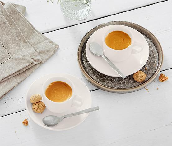 2 Barista-Espressotassen