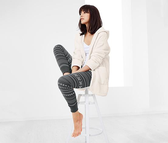 Legging avec motif norvégien
