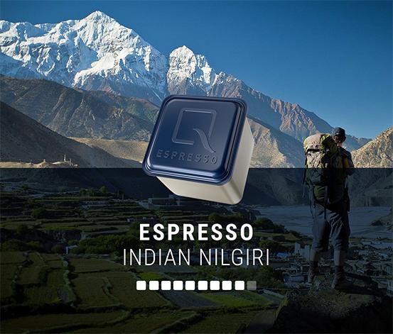 Qbo ESPRESSO INDIAN NILGIRI – 144 Kapseln