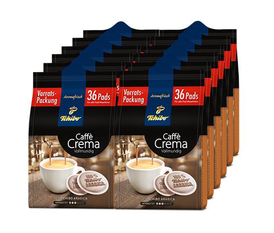 12x 36 Pads Caffè Crema Vollmundig