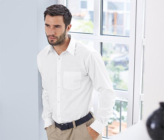 Business-Hemd, weiß
