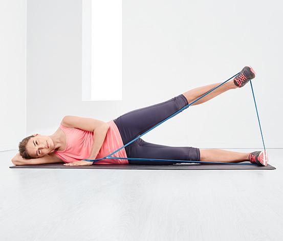 Multifunktionelt fitnessbånd