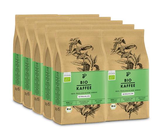 BIO KAFFEE – 10 x 250 g Gemahlen