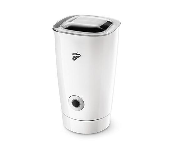 Elektrický napěňovač mléka, bílý