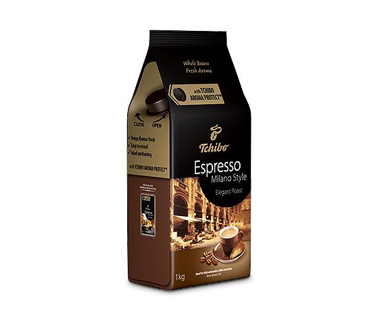 Espresso Milano Style - 1 kg zrnkovej kávy