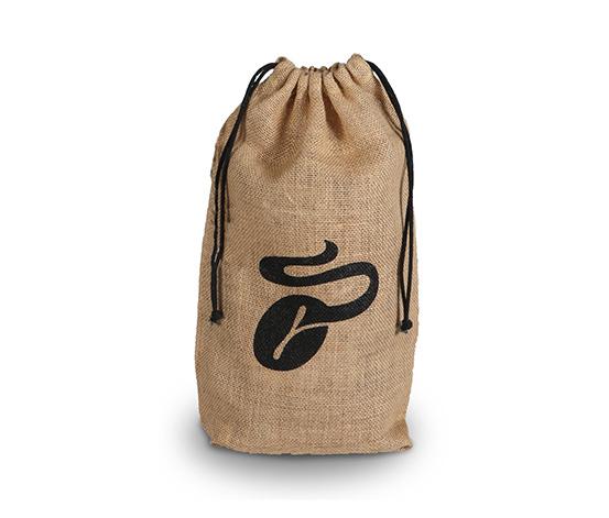 Kaffee-Geschenkesack aus Jute