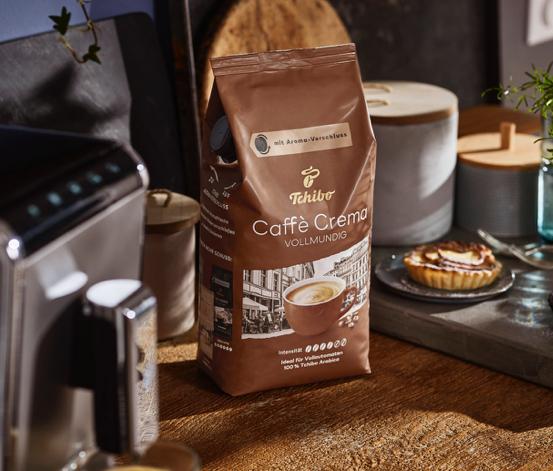 Caffè Crema Vollmundig - 1 kg Ganze Bohne