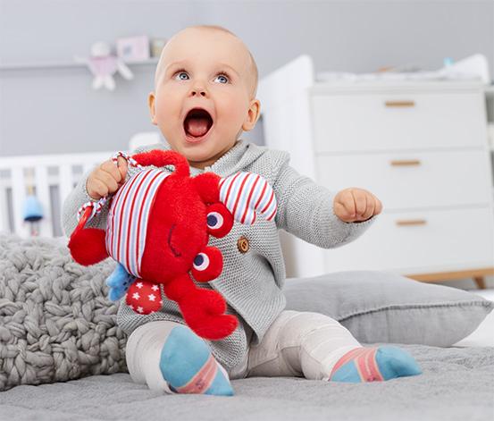 Aktywna zabawka pluszowa »Krab«
