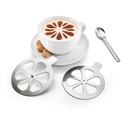 Šablony na cappuccino, 2 ks