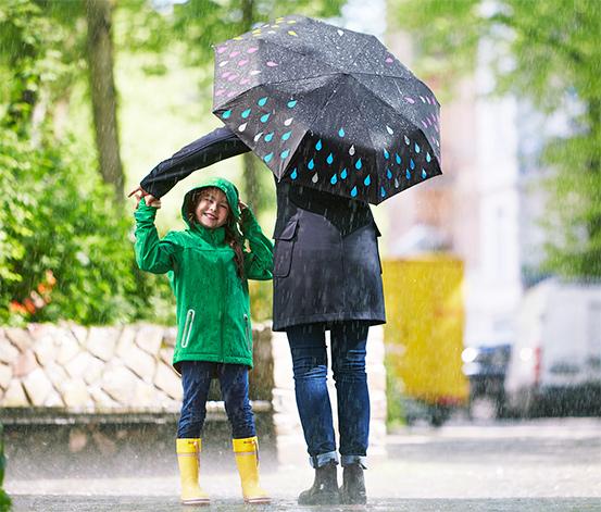 Efektli Otomatik Şemsiye