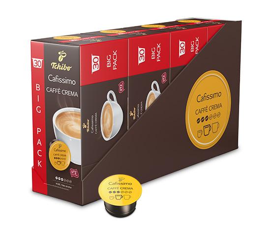 Caffè Crema mild – 120 Kapseln