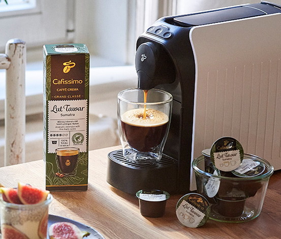 80 kapsułek kawy Grand Classé Caffè Crema »Lut Tawar« z Sumatry