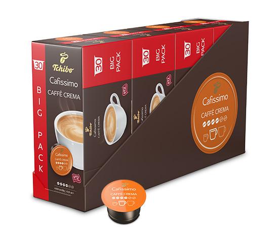 Caffè Crema vollmundig – 120 Kapseln