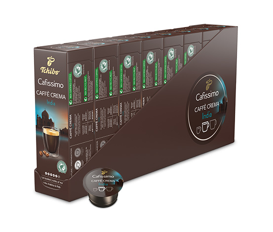 Caffè Crema India – 80 kapslar