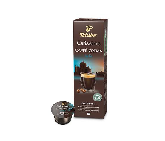 Caffè Crema India, 10 kapslí