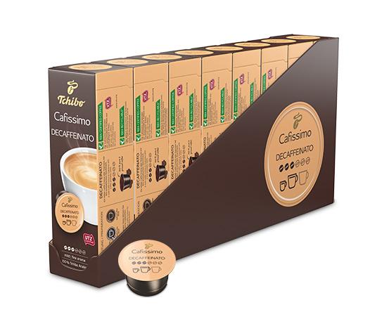 Cafissimo Caffè Crema entkoffeiniert – 80 Kapseln