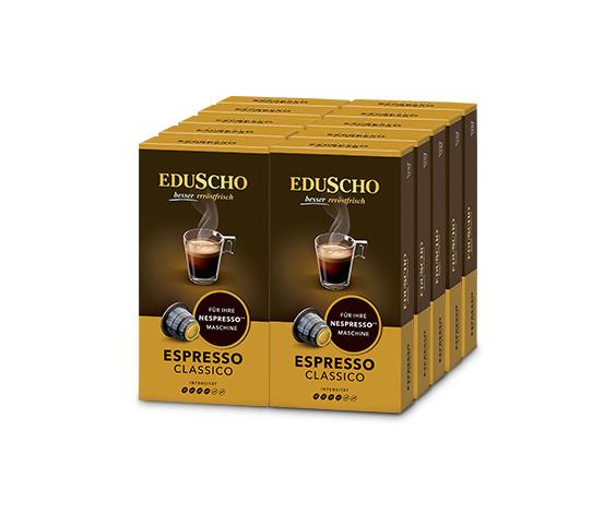 EDUSCHO Espresso Classico – 100 kapslar