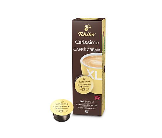 CAFISSIMO Caffè Crema XL, 10 kapslí