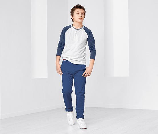 Fiú chino nadrág, kék