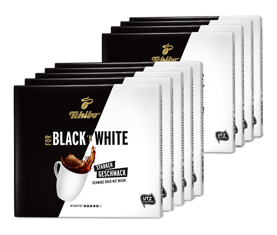 FOR BLACK ´N WHITE - 9 x 500 g Gemahlen