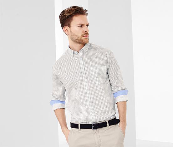 Férfi ing, mintás