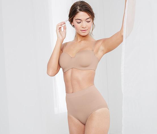 Slip modelant à taille haute