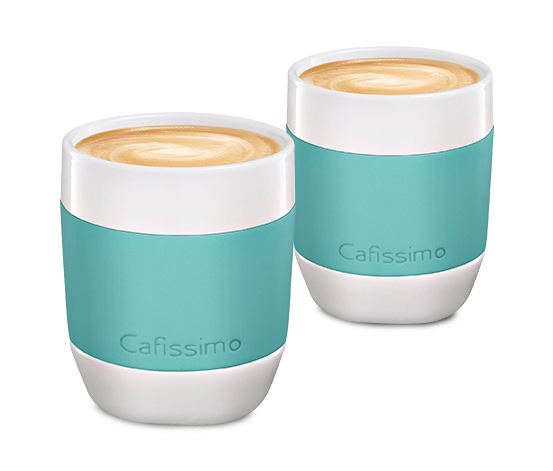 Šálky na kávu mini Edition, mint, 2 ks
