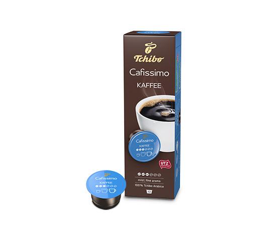 Káva jemná, 10 kapsúl