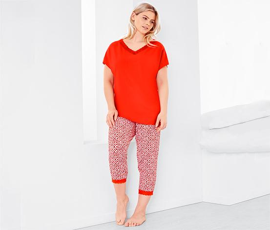 Női plus size pizsama