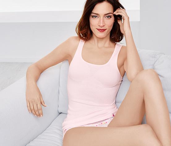 Női trikó, rózsaszín