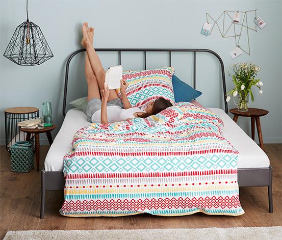 Parure de lit en jersey, taille normale
