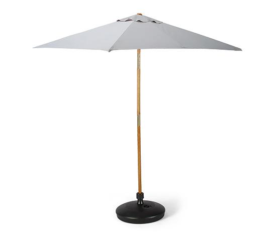 Küçük Bahçe Şemsiyesi, Gri