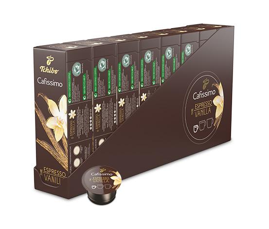 ÚJ: Espresso Vanilla - 80 Kapszula