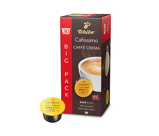 NEU: Caffè Crema mild – 30 Kapseln